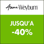 Anne Weyburn : PROMOS - Remise de 40% sur la Collection