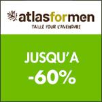 ATLAS FOR MEN, en avant les Soldes