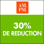 AM.PM : jusqu'à -30% pour la rentrée !