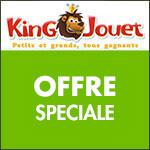 King Jouet : jusqu'à 50€ remboursés !