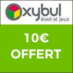 Oxybul : 10€ offert tous les 40€ d'achats