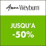 Anne Weyburn : jusqu'à -60% sur TOUT le site