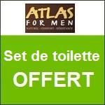 Atlas for Men : un set de toilette offert