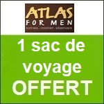 Atlas for Men : un sac de voyage offert !