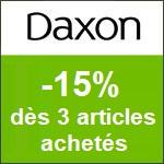 Daxon : -15% dès 3 articles acheté dans la nouvelle collection
