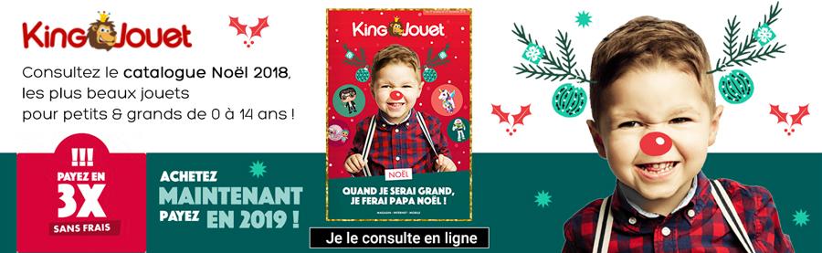 Feuilletez le catalogue King jouet Noël 2018, je clique