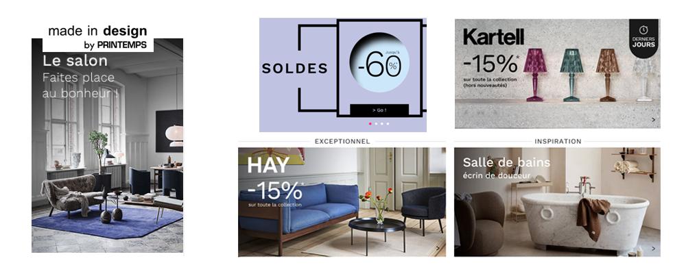 MADE IN DESIGN, Soldes sur le Design jusqu'à -60%