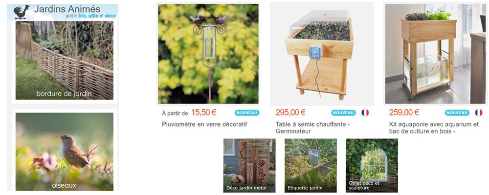 JARDINS ANIMES - Le bonheur du beau et du bio pour votre jardin