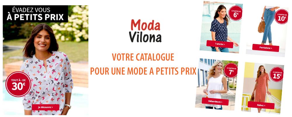 MODA VILONA - Nouveau catalogue Mode et Deco a petits prix