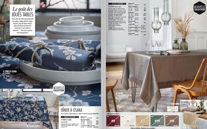 Cliquez ici pour voir toute la collection de linge de table Linvosges