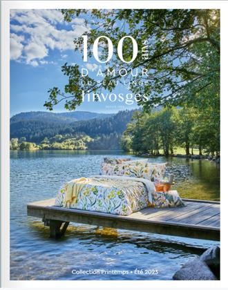 catalogue linvosges pour votre linge maison sur. Black Bedroom Furniture Sets. Home Design Ideas