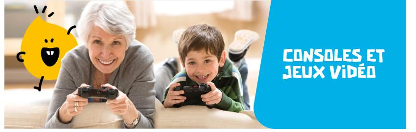 Cliquez ici pour découvrir le rayon Jeux vidéo et jeux connectés