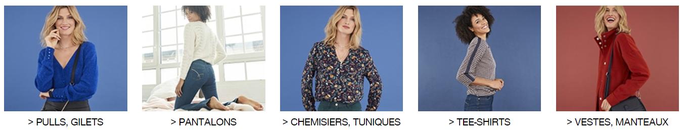 Je clic ici pour voir toute la collection Mode Femme Damart