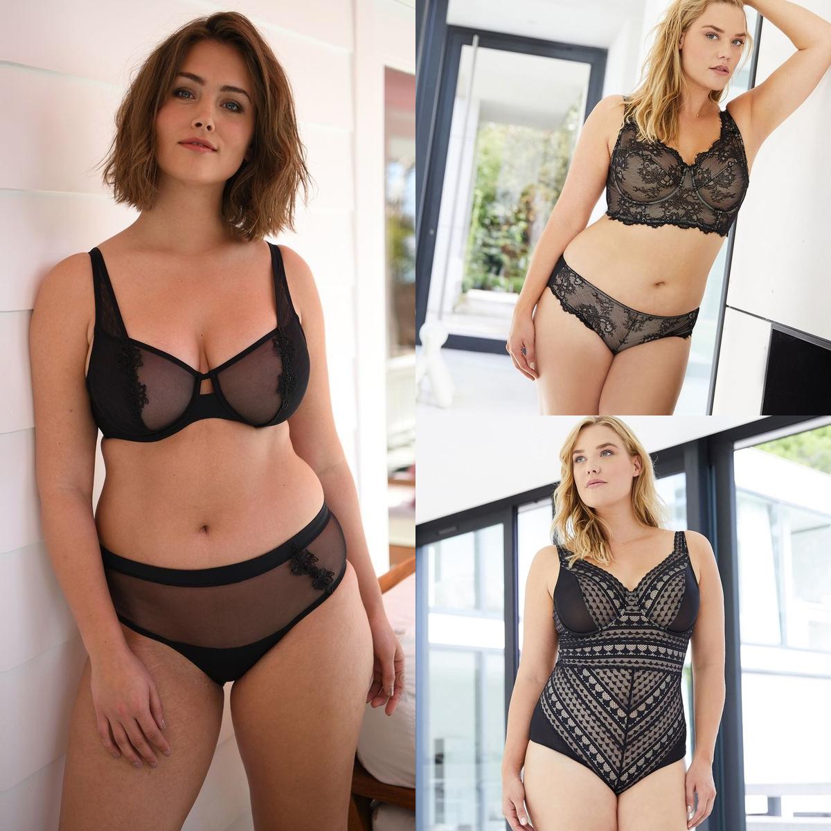 Craquez pour la collection sexy de lingerie Ashley Graham