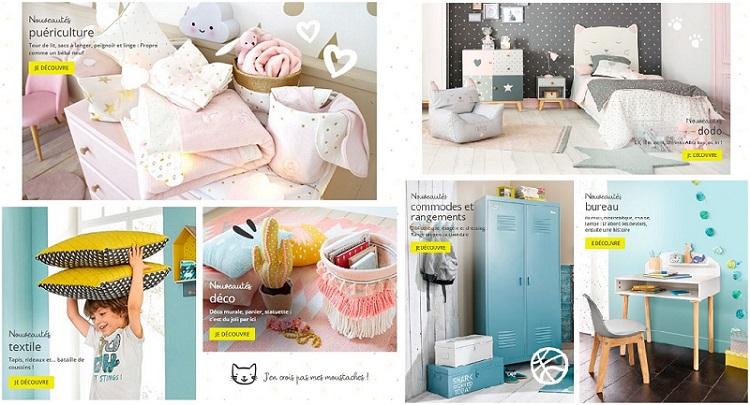 Recevez votre catalogue maisons du monde spécial chambre junior