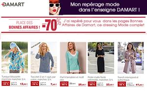Dressing Mode DAMART vu par CATALOGUE.FR