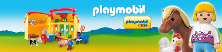 Playmobil 1.2.3, retrouvez toutes les boîtes pour les plus petits