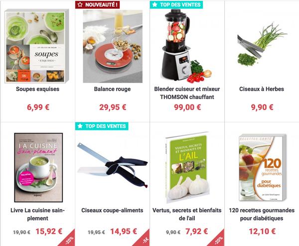 Découvrez la boutique en ligne pour la Cuisine Pleine Vie