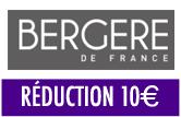 BERGÈRE DE FRANCE: 10€ Offert dès 49€ d'achat