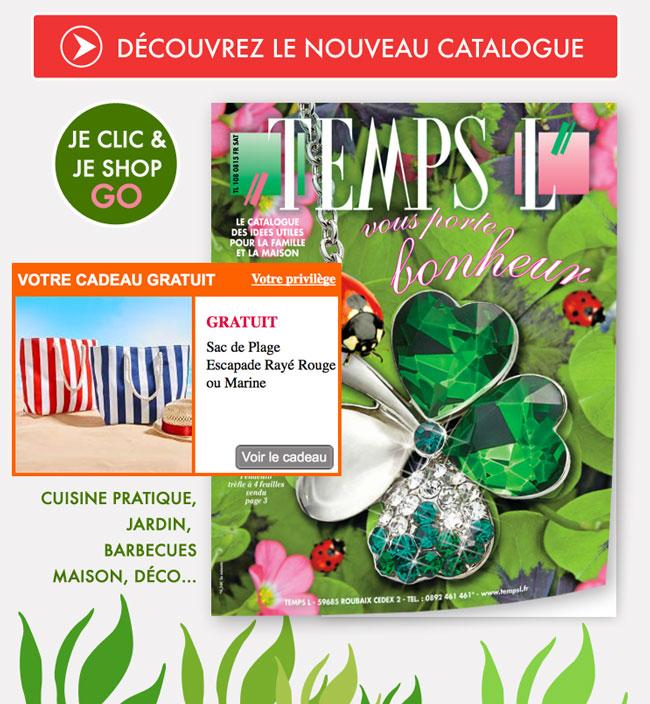 Accéder au site TEMPS L pour continuer votre shopping !