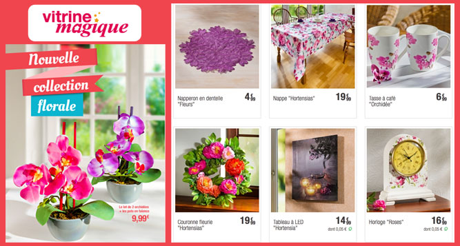 La nouvelle collection florale