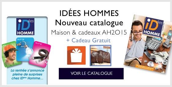 Le NOUVEAU Catalogue Idées Homme