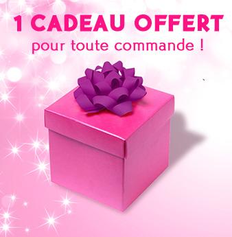 1 Cadeau offert pour toute commande