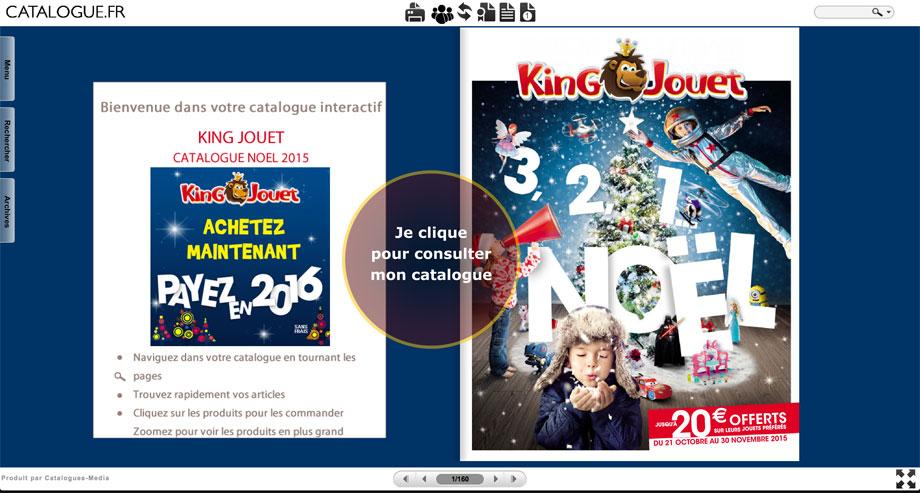 Je clique pour ouvrir mon catalogue KING JOUET