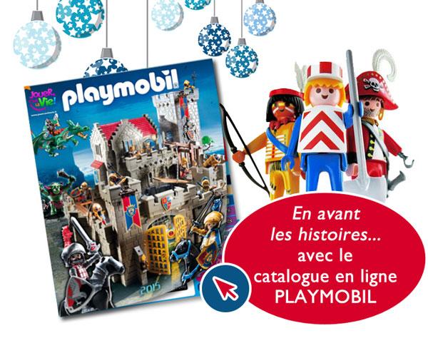 Catalogue Playmobil Noël 2015, en avant les histoires !