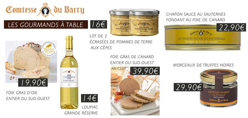 Terroir & Gastronomie pour vos repas de fête !