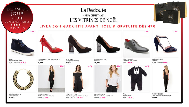 Happy Christmas la Redoute