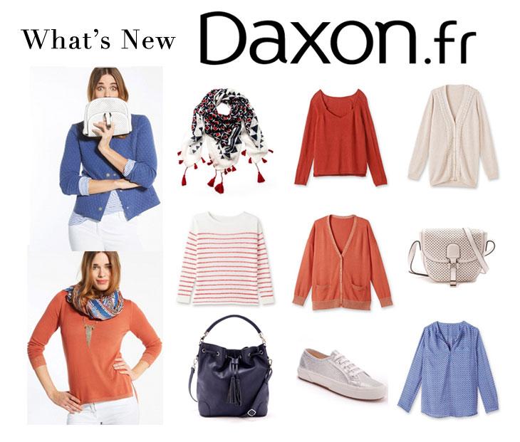 Transition en douceur et en couleur pour la nouvelle collection DAXON