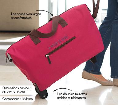 Votre grand sac de voyage en cadeau !
