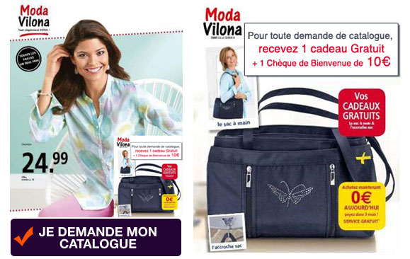 Demandez votre catalogue Moda Vilona !