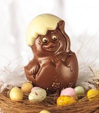 Poussin en chocolat