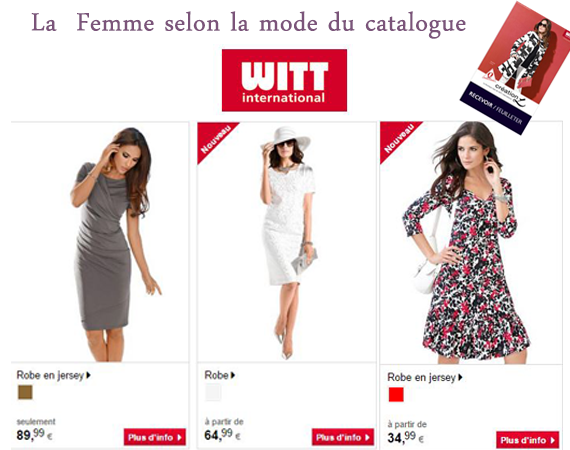 Les robes WITT International