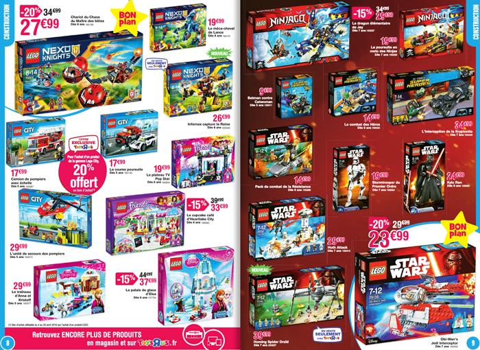 Des Lego pour tout le monde !