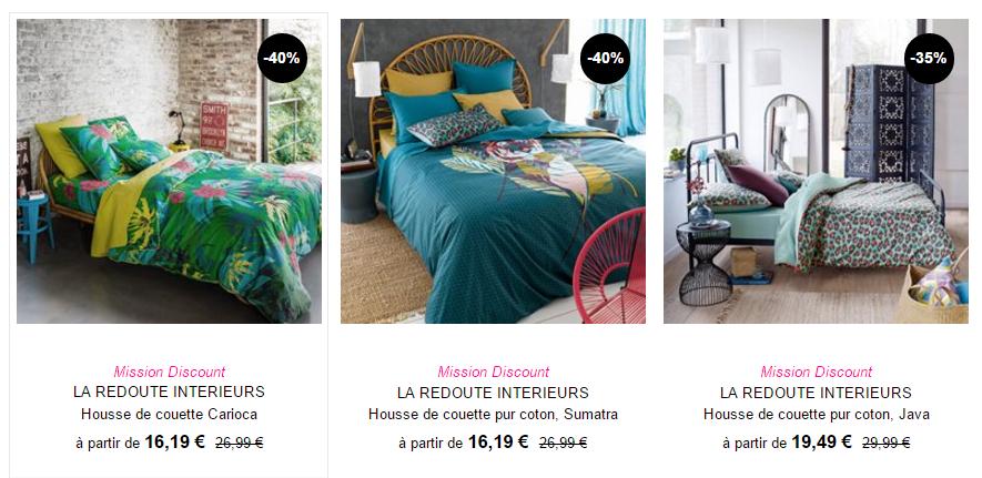mission discount la redoute jusqu 39 50 de r duction 10 suppl mentaire jusque demain soir. Black Bedroom Furniture Sets. Home Design Ideas