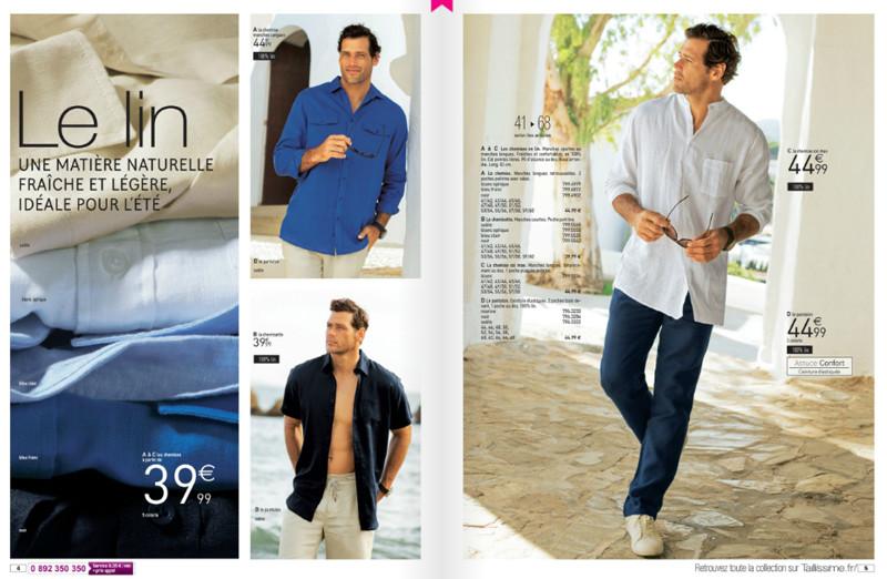 Taillissime habille l 39 homme grand l 39 homme fort d couvrez son premi - Catalogue la redoute grande taille ...