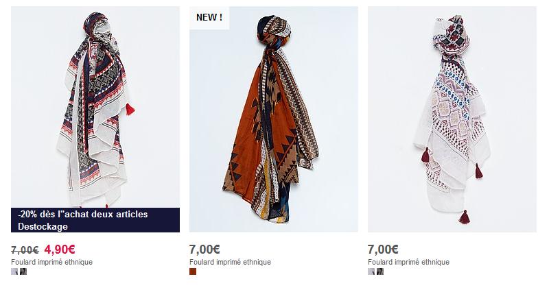 Le foulard, un indispensable !