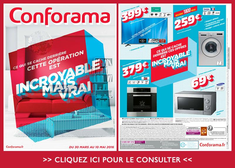 CONFORAMA, le nouveau catalogue est arrivé chez catalogues.fr ...