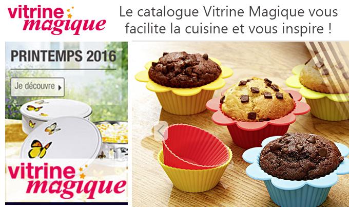 Le catalogue Vitrine Magique vous facilite la cuisine et vous inspire !