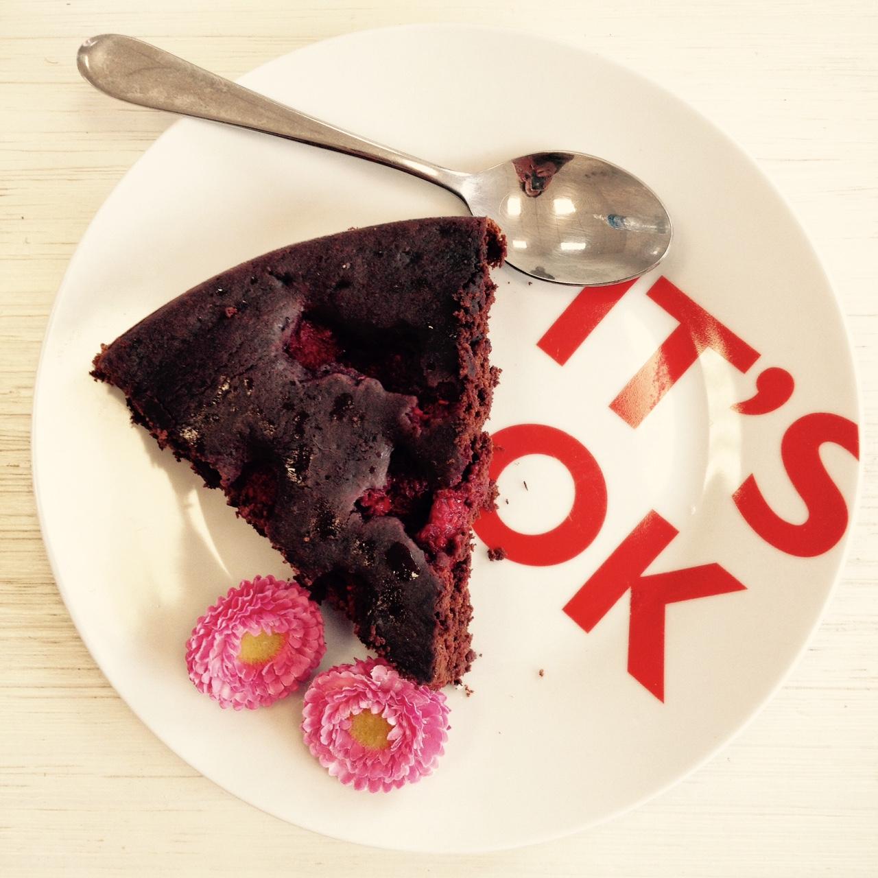Voir d'autres recettes de gâteaux au chocolat et aux framboises.