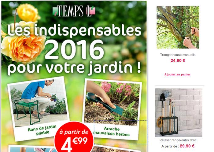 les indispensables 2016 pour votre jardin.