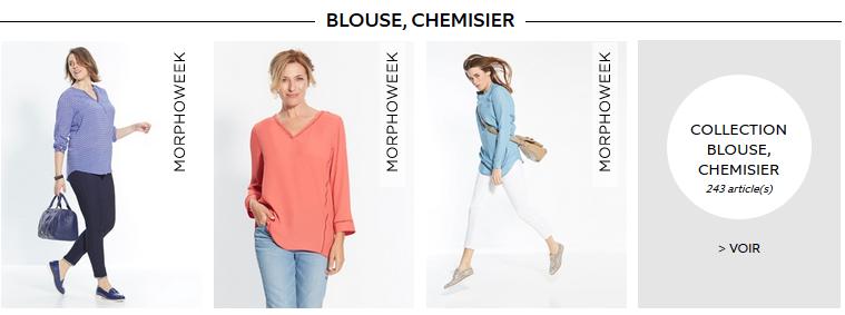 Des blouses, des chemisiers...