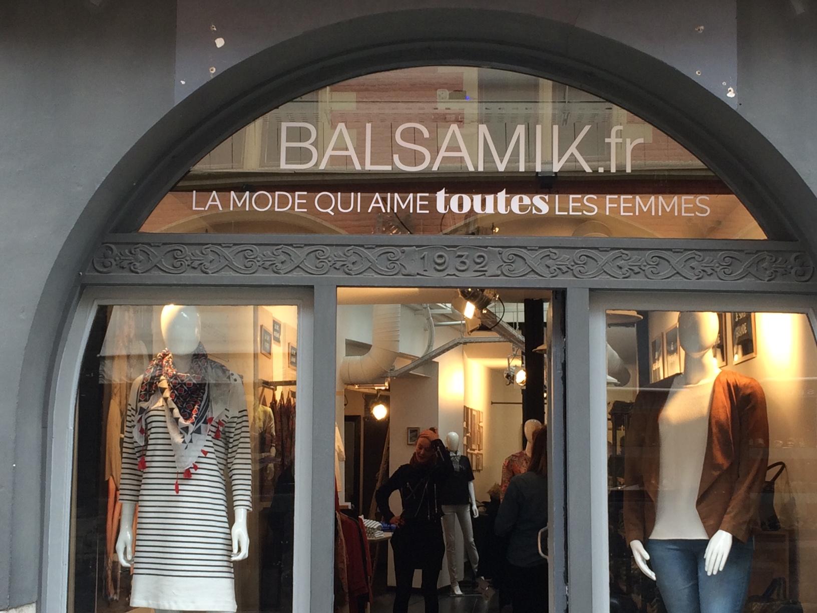 Boutique Balsamik en plein coeur du vieux Lille