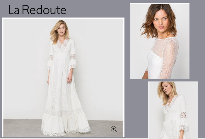 La Redoute dispose d'une collection cérémonie