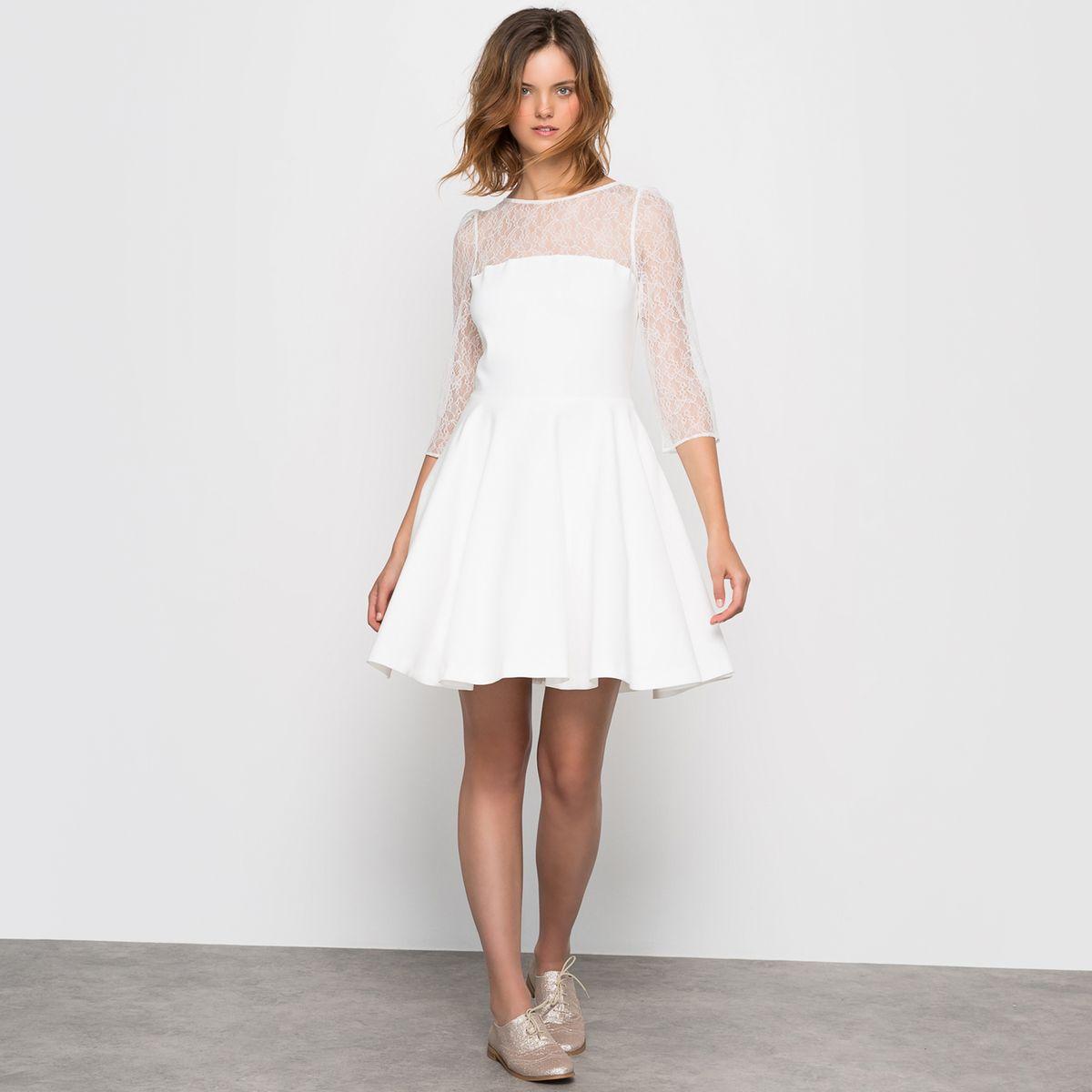La robe de mariée courte
