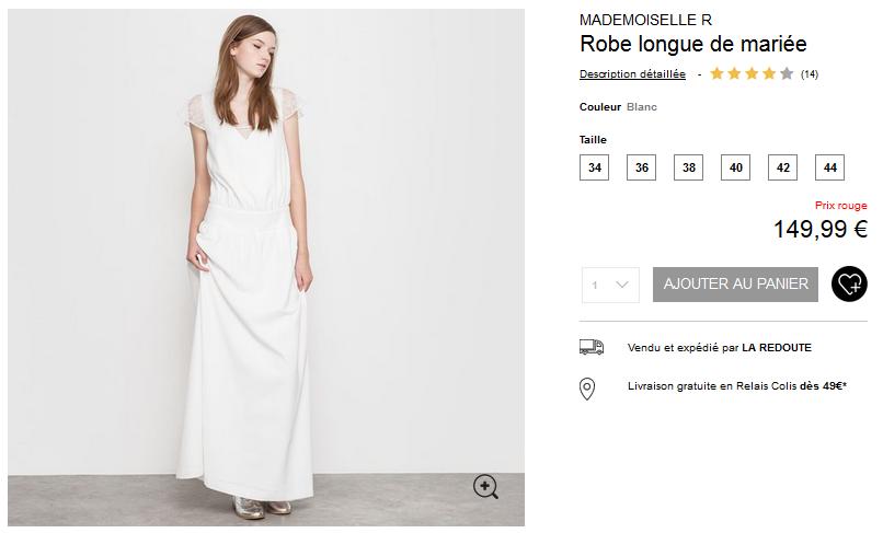 Voir cette robe en détail.