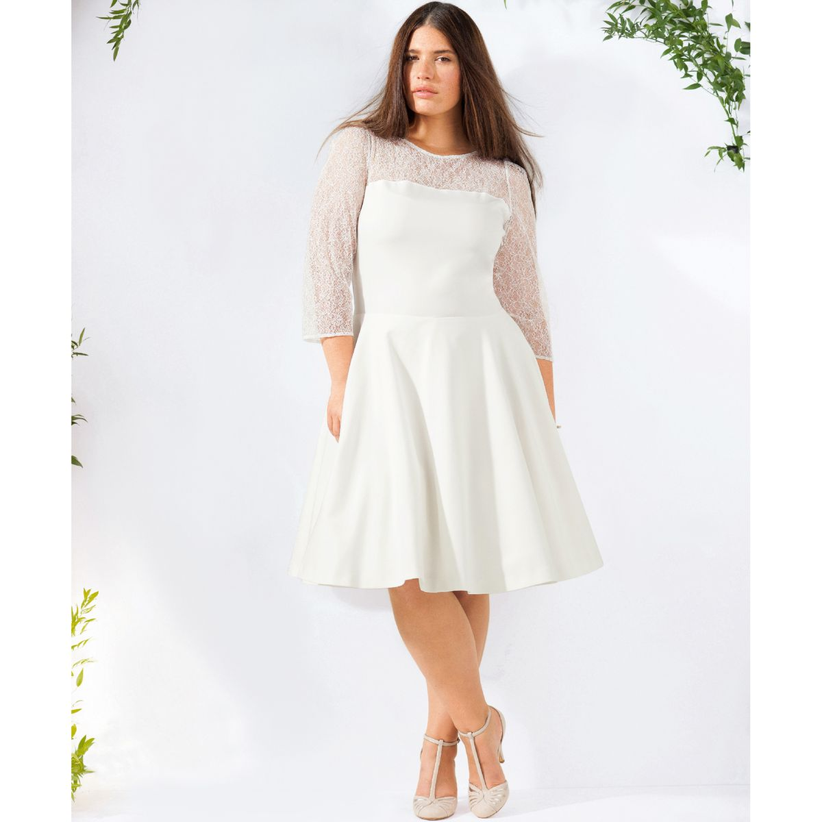 Une robe de mariée pour celles qui ont de belles courbes !
